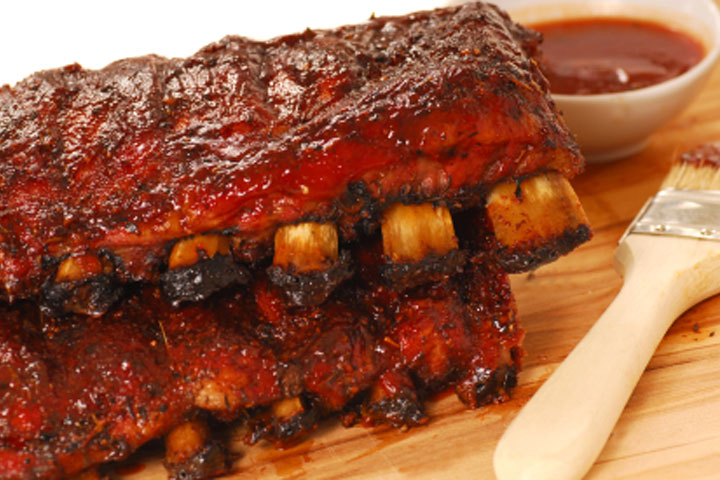 Greek style pork ribs recipe