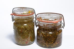 Collection of relish recipes
