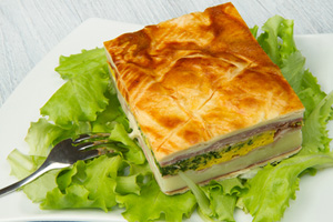Collection of savory pies recipes