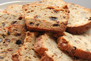 Collection of fruit bread recipes