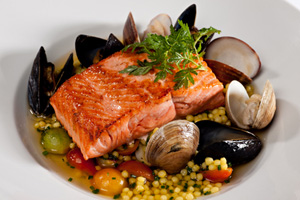Collection of fish and seafood recipes