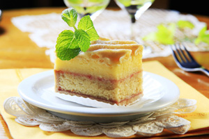 Collection of alcohol cake recipes