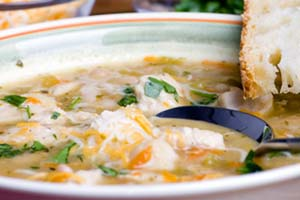 Collection of white chili recipes