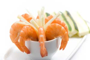 Collection of seafood and fish appetizer recipes