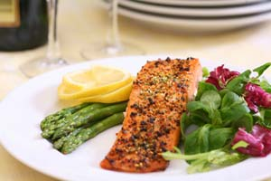 Collection of salmon recipes