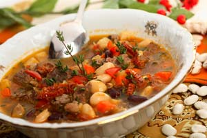Collection of meat and poultry soup recipes