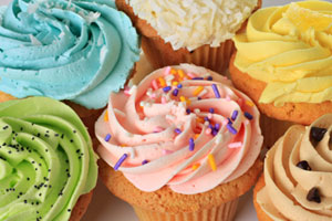 Collection of frosting, icing, and cake decorating recipes