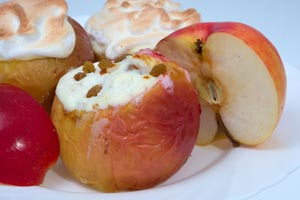 Collection of apple dessert recipes