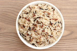 Collection of crock pot rice and grain recipes