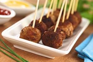 Collection of crock pot appetizer meatballs recipes