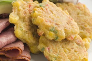 Collection of fritters recipes