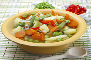 Collection of crock pot vegetable soup recipes