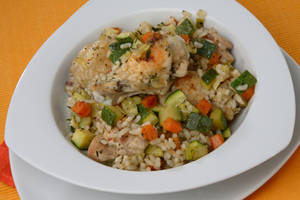 Collection of crock pot chicken and rice recipes