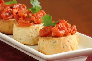 Collection of bruschetta recipes