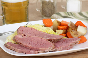 Collection of crock pot corned beef recipes