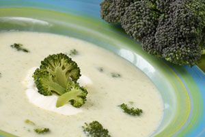 Collection of crock pot broccoli soup recipes