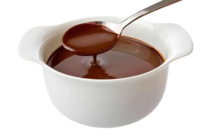 Chocolate Sauce For Cake Without Cream
