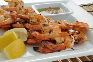 Collection of shrimp recipes