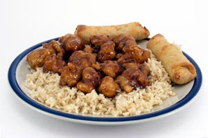 Collection of general tso's chicken recipes