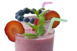 Collection of kid-friendly smoothie recipes