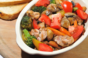 Collection of crockpot meat and poultry recipes