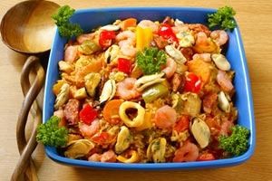 Collection of paella recipes