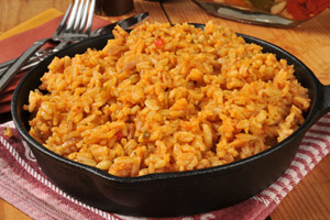 Collection of spanish rice recipes