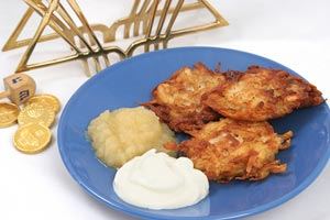 Collection of hanukkah recipes