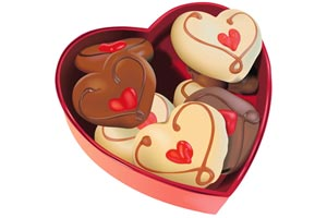 Collection of valentine's day recipes