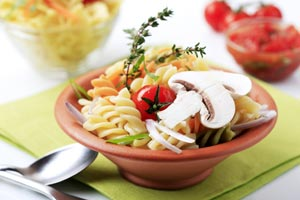 Collection of meatless pasta recipes