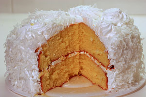Collection of coconut cake recipes