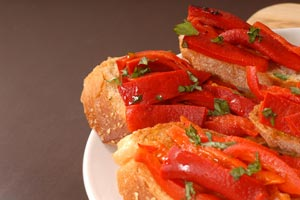 Collection of crostini recipes