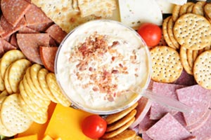 Collection of bacon dip recipes