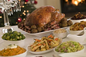 Collection of christmas dinner recipes