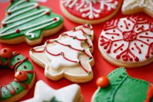 Collection of christmas cookies recipes