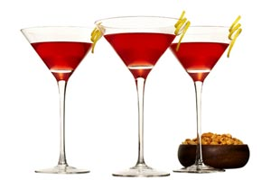 Collection of new years drink recipes