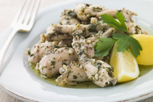 Collection of frog legs recipes
