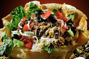 Collection of taco salad recipes