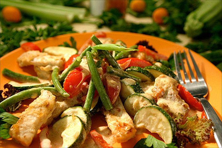 Turkey salad recipes cdkitchen for Salad for thanksgiving best recipes