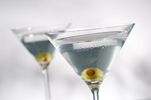 Collection of martini recipes