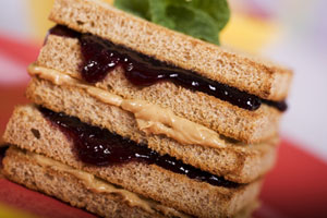 Collection of peanut butter sandwich recipes