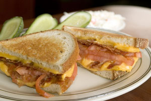 Collection of bacon sandwiches recipes