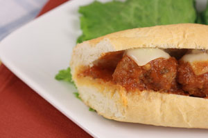 Collection of meatball sandwich recipes