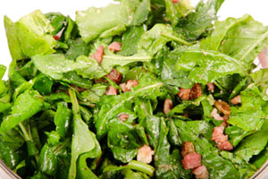 Collection of bacon salad dressing recipes