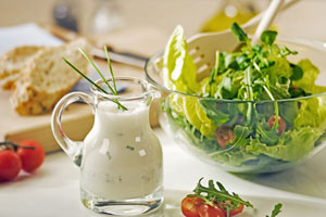 Collection of buttermilk salad dressing recipes