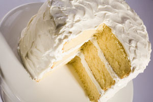 Collection of cakes using yellow cake mix recipes