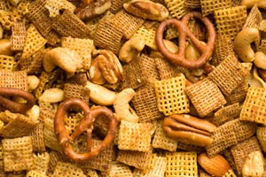 Collection of cereal snack mix recipes