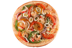 Collection of seafood pizza recipes