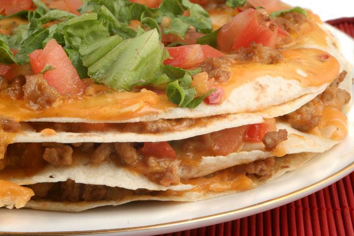 mexican pizza recipes cdkitchen. Black Bedroom Furniture Sets. Home Design Ideas