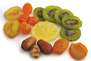 Collection of candied fruit recipes
